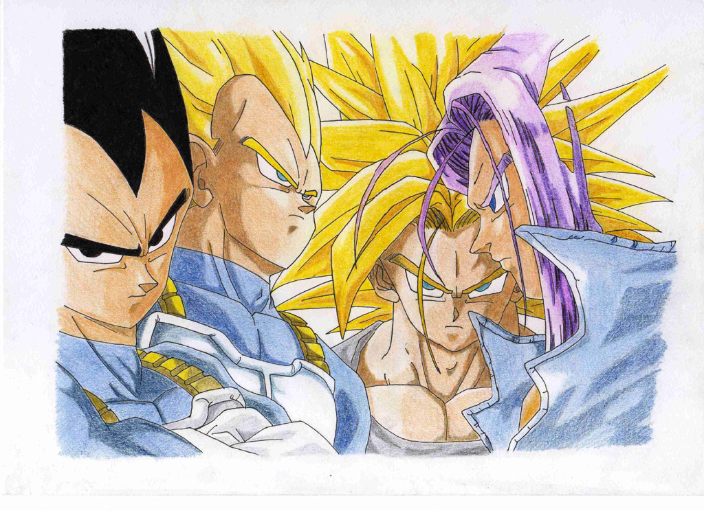 Dragonball : Vegeta&Trunks