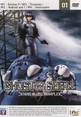 Ghost in the shell stand alone complex, Vol 1