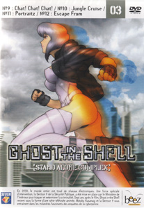 Ghost in the shell stand alone complex, Vol 3