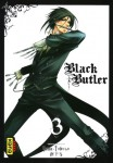 Black butler - Volume 3